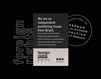 Foreign Rights catalogue // Frankfurt Book Fair