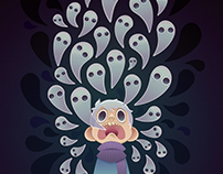 Ghosts and a boy