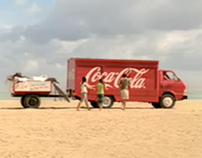"""Coca-Cola Live Positively """"Red Truck"""" Campaign"""