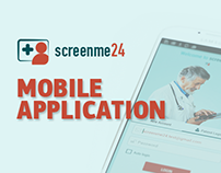 ScreenMe24 - Mobile Application
