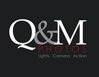 Logo design for Q&M Photos