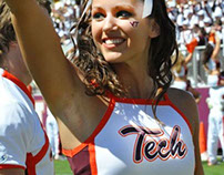 Virginia Tech Cheer Team Uniforms