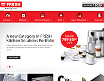 Fresh home appliances- Egypt