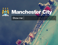Manchester City FC Site redesign Concept