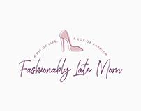 Fahsionably Late Mom | Branding