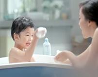 Johnson's Baby Blue Bath, TVC