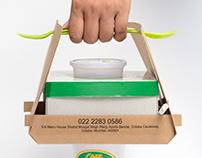 Take Away Package designing (CAFE MONDEGAR)