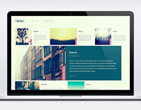 Sideways-Web Design Concept