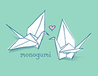 Monogami Tshirt Design for Threadless