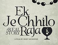 Ek Je Chhilo Raja Minimalist Concept Artwork