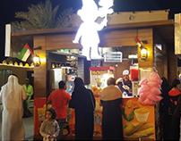 Cafe Shope for Sheikh Zayed Heritage Festival