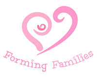 Logo and leaflet design for Forming Families