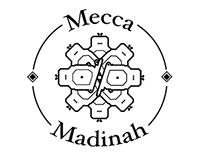 Logo & T-shirt design for fashion brand Mecca + Madinah