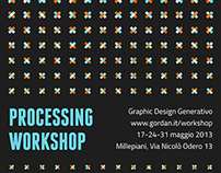 Processing Workshop Poster