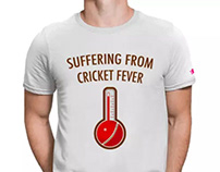 Suffering From Cricket Fever Tshirt