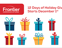 Frontier Communications: Digital & Social Campaign