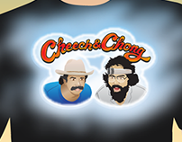 Cheech & Chong vector graphics for T-Shirt