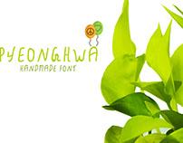 Free Pyeonghwa Handmade Font