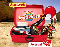 Sunweb Inpakkers Facebook campagne
