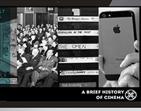 History of Cinema Website