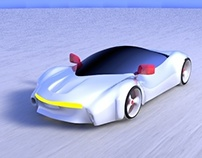 Moon Car (3D Modeling)