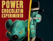 Afiche personajes - Power Chocolatin Experimento