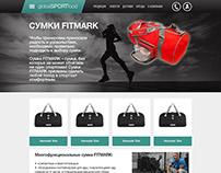 GlobalSportFood site design