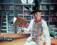 Pop-up Book for Jay Chou's Bedtime Stories Music Video