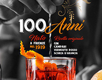 Negroni Cocktail - 100 years of Italian excellence