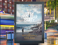 Stay Peculiar Party Outdoor