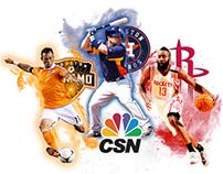 Comcast Sportsnet Houston Marketing