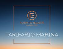 Tarifario Marina de Puerto Banús
