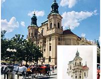 Urban Sketch / Vienna-Prague