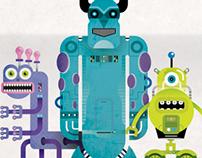 Monsters University / Robot Class