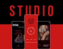 Vocal studio — redesign 2020
