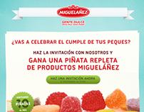 Facebook App para Migueláñez