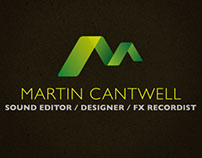 Identity for Martin Cantwell, Sound designer