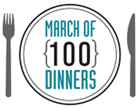 March of 100 Dinners