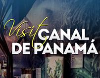Visit Canal de Panamá | Web Design