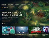 LCU In-Game Client Landing Page