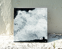 """Triptych """"Clouds of solitude"""""""