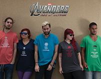 """The Avengers""-inspired Fashion Design | Design"