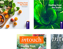 UWS inTouch magazine redesign
