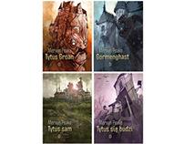 Mervyn Peake - Book Covers