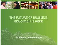 Exhibit and Display-CU Denver Business School