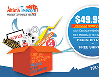Altima Telecom Newspaper Ad