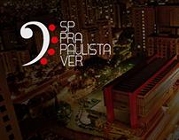 TCC | Evento Cultural - SP Pra Paulista Ver
