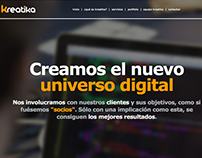 Kreatika - Responsive One Page HTML5