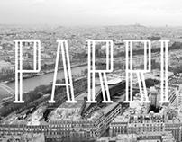 PARRI typeface