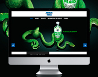 absolut vodka website redesign concept